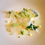 Citrus Cured Turbot Starter